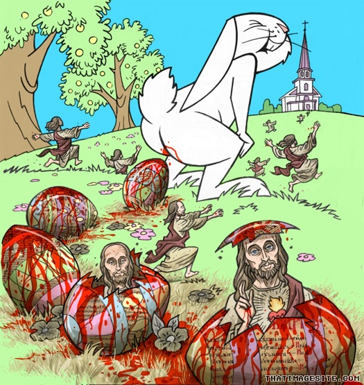 Episode 47: Jesus Hopping Christ Down the Bunny Trail; It's Easter!